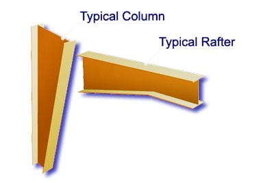 Columns and Rafter