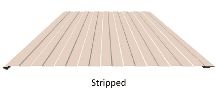 Stripped Panel