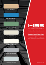 MBS Color Chart