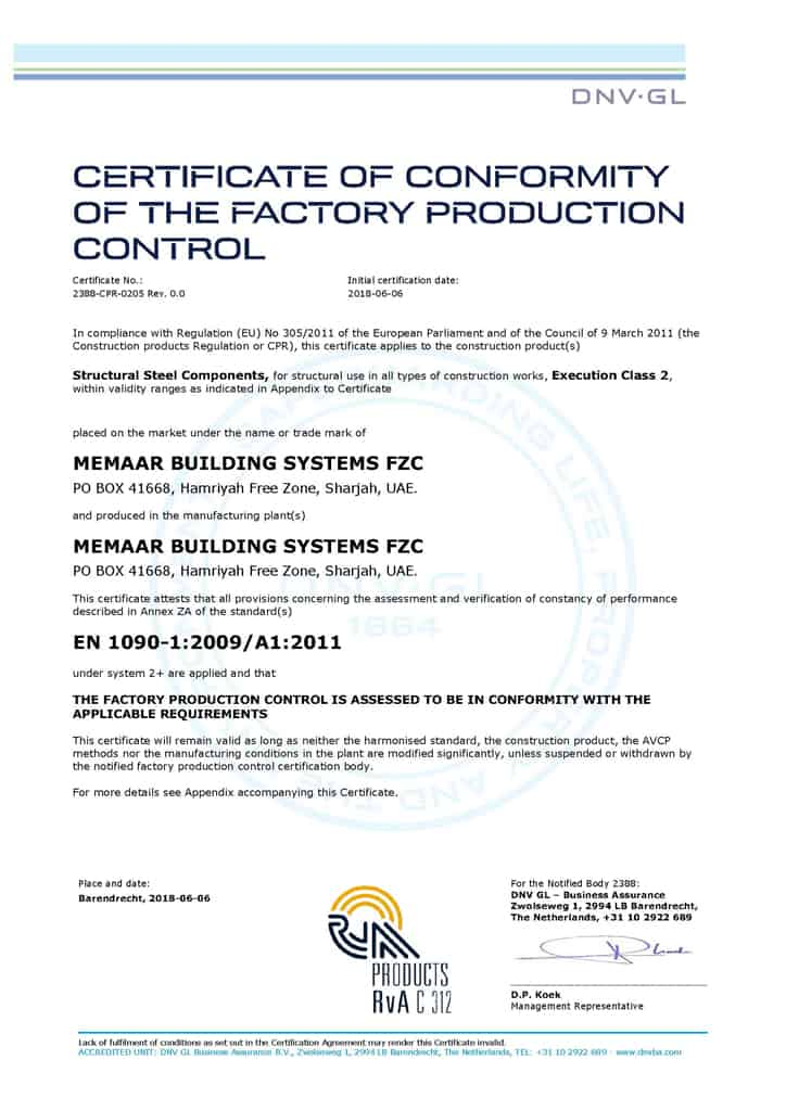Certifications - MBS has achieved ISO 9001, ISO 14001, OHSAS