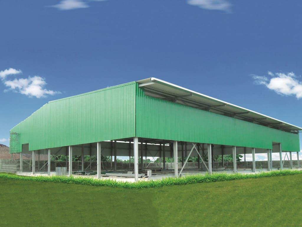 Pre Engineered Steel Buildings (PEB) - Memaar Building Systems