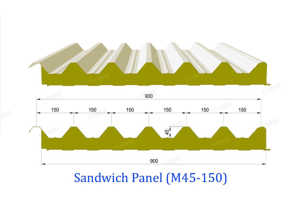 Sandwich Panel M45-150